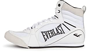 Buy Everlast Lo-Top Boxing Shoes - WH - 9 by EVERLAST ORIGINAL
