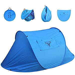 Frostfire Large 2 Person Instant Popup Tent from Frostfire