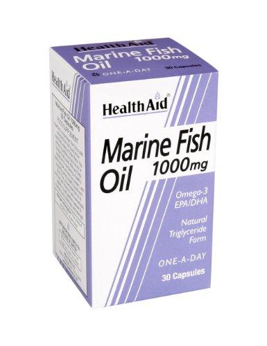 HealthAid Marine Fish Oil 1000mg - 30 Capsules