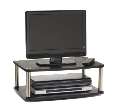 Buy Low Price Convenience Concepts Designs-2-Go 2-Tier Swivel TV Stand (B000W9TVJ0)
