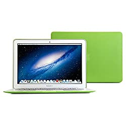 GMYLE(R) Hard Case Matte for MacBook Air 13 inch - Matcha Green Rubber Coated Hard Shell Case Cover case