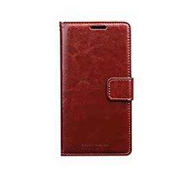 ELEGO TRADING Magnetic Flip Wallet Cover Case for iPhone 6 6S PU Leather Case with Card Holder Silicone Back Cover