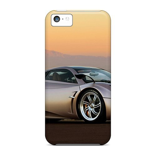 gracesfavor-obxdl7094dhmez-case-cover-iphone-5c-protective-case-pagani-huayra-sunse