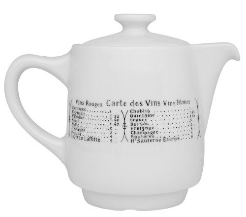 Pillivuyt Brasserie Coffee / Tea Pot, 18 Ounce Capacity