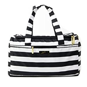 Ju-Ju-Be SuperStar Travel Duffel Bag with 2 Zippered Pockets by Ju-Ju-Be