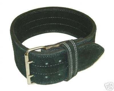 Leather Power Weight Lifting Belt- 4