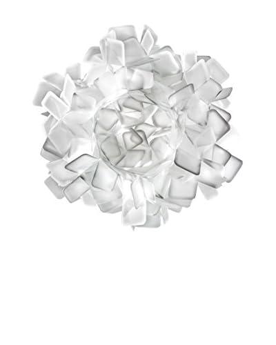 Slamp Lámpara de Pared/Techo Clizia 53 Blanco Ø53 H 20cm