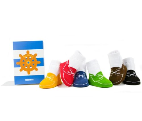 Trumpette Skippers Toddler Socks Set 1-2y (12-24m)