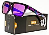 Spy Optic Ken Block Livery Series Helm Sunglasses - One size fits most/Black/Purple