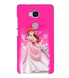 printtech Disney Cindrella Girl Princess Back Case Cover for Huawei Honor 5X :: Huawei Honor X5 :: Huawei GR5