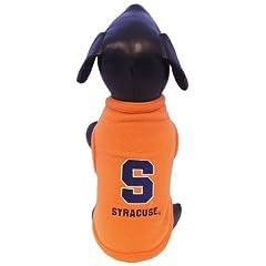 NCAA Syracuse Orange Polar Fleece Dog Sweatshirt, X-Large by All Star Dogs