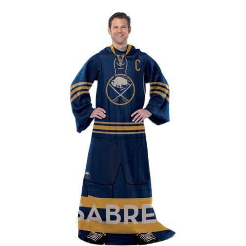 NHL Full Body Comfy Throw NHL Team: Buffalo Sabres at Amazon.com