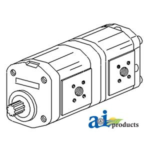 Amazon.com: 4345365 Hydraulic Pump Fits Deutz: Industrial & Scientific