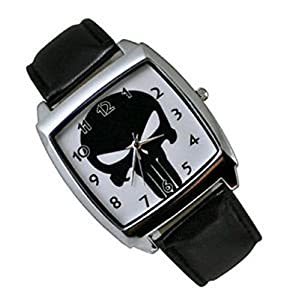 The Punisher Fashion Skull Watch Man's Woman's Punisher Watch, Watch:P