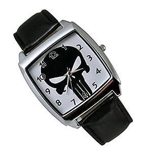 The Punisher Fashion Skull Watch Man's Woman's Punisher Watch, Watch:P