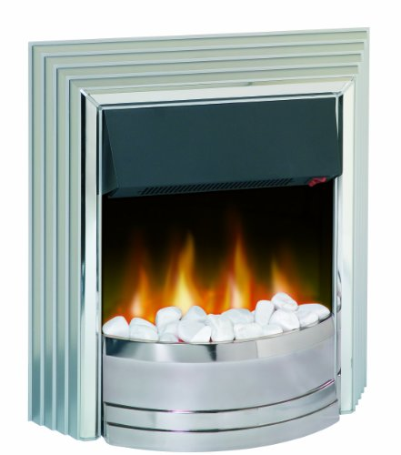 Dimplex CST20 Castillo Contemporary Freestanding Optiflame Effect Electric Fire, 2 Kilowatt