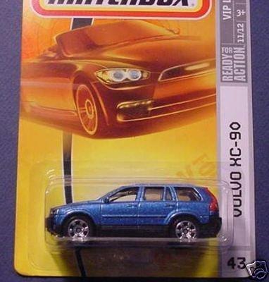 matchbox-mattel-2007-volvo-xc-90-43-vip-luxury-blue