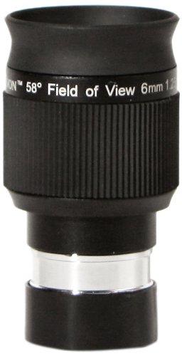 Olivon 58-Degree Field Of View Hd 1 1/4-Inch Eyepiece, Black, 6Mm