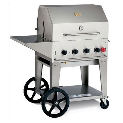 """Bundle-28 30"""" Natural Gas Grill On Cart (2 Pieces) Gas: Natural Gas"""