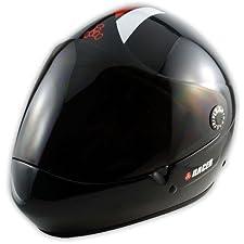 Triple 8 Helmet Racer Downhill Longboard Black Helmet, L/Xl