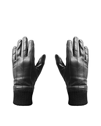 hi-Fun  Guanti Per Tablet E Smartphone Hi-Glove Leather Man X-Large Nero