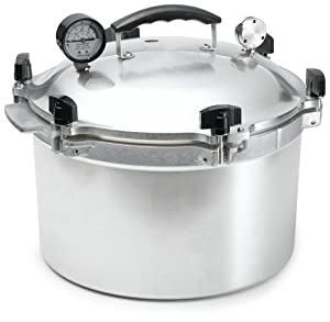 All-American 15-1/2-Quart Pressure Cooker/Canner