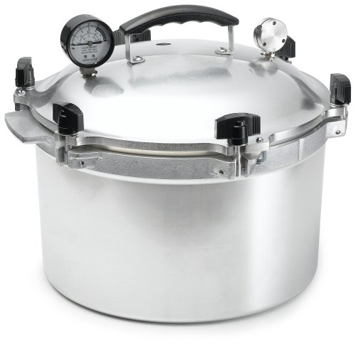 All-American 15-1/2-Quart Pressure Cooker/Canner image