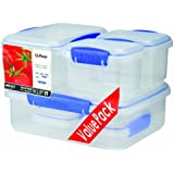 Sistema Klip It Storage Container, 6 Packby Sistema
