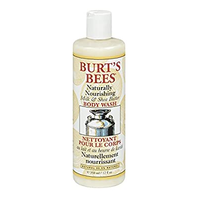 Burt's Bees Milk and Shea Butter Body Wash 350ml