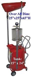 18 Gallon AIR OIL Extractor Vacuum Drain Drainage