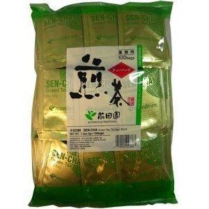 authentic-maeda-en-japanese-sencha-green-tea-100-foil-wrapped-tea-bags-garden-lawn-maintenance-by-ga