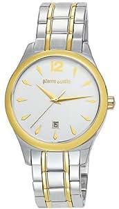 Pierre Cardin Herren-Armbanduhr XL  Analog Quarz Edelstahl beschichtet PC104771F03