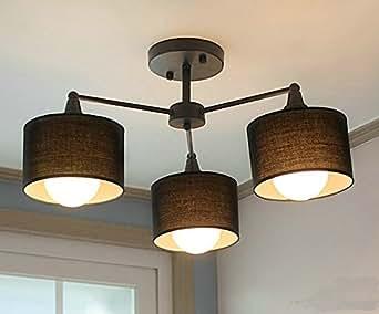 dpg modern ceiling lights fixture semi flush mount type