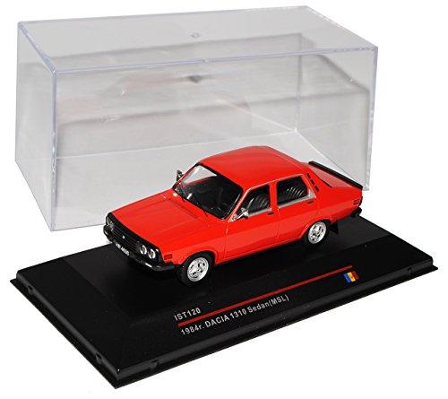 Dacia 1310 1984 Rot Limousine ist120 1/43 ixo ist Modell Auto Modellauto