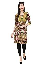 Kurti Collection pure cotton digitally printed geometric pattern ethnic kurti fabric material (Unstitched)