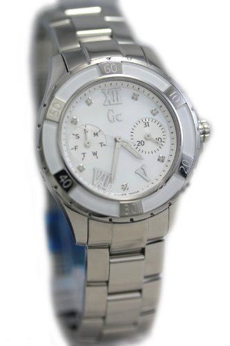 Reloj Guess Collection Gc Sport Class Xl-s X75102l1s Mujer Nácar