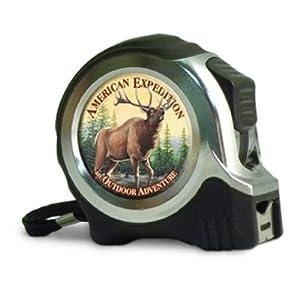 American Expediton TAPE-504 American Elk 25-ft. Metal Tape Measure