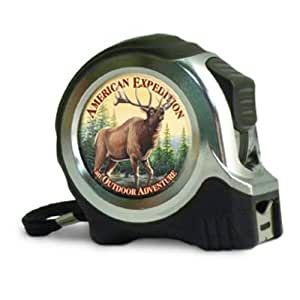 American Expediton TAPE-504 American Elk 25-ft. Metal Tape Measure