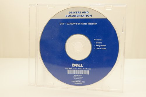 Dell Drivers And Documentations S2309