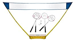 Merax Outdoor Portable Badminton Set with Badmintion racket