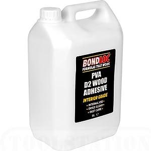Bondloc Pva Wood Glue Exterior 5l Diy Tools