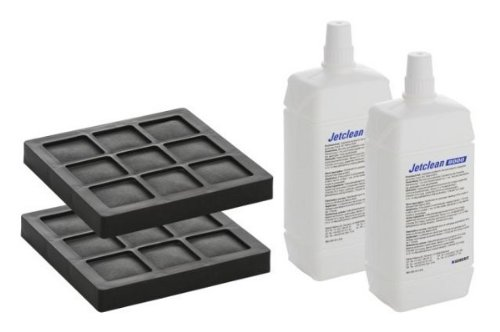 Geberit Dusch-WC AquaClean Zubehör-Set 2x Düsenreiniger JetClean 8000 2x Aktivkohlefilter
