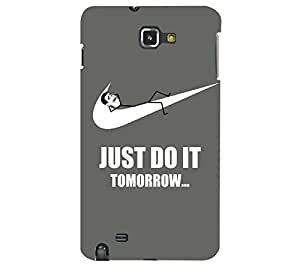 Perfect print back cover for Samsung Galaxy Note 1