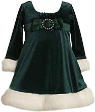 Bonnie Jean Little Girls39 Glitter Stretch Empire Waist