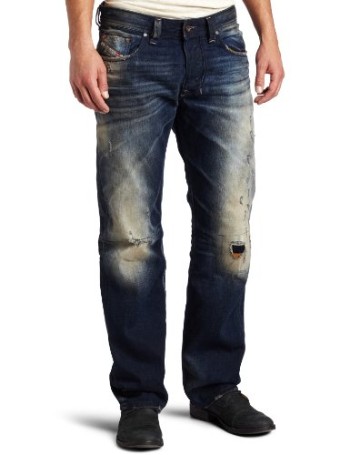 Brand New Diesel Larkee 74Y Mens Jeans, 074Y, DNA Time Exposure Collection, Regular Fit Straight Leg (29 x 32)