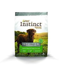 Instinct Grain-Free Limited Ingredient Diet Lamb Meal and Peas Dry Dog Food 4.4 lb Bag