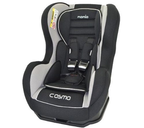 Nania Cosmo SP Luxe Agora Seggiolino per auto di gruppo 0+/1, nero