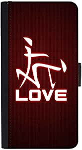 Snoogg Chinese Love Designer Protective Phone Flip Back Case Cover For Lenovo Vibe K4 Note