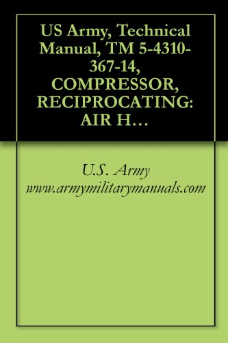US Army, Technical Manual, TM 5-4310-367-14, COMPRESSOR, RECIPROCATING: AIR HANDTRUCK MOUNTED, GASOLINE ENGINE DRIVEN, (C&H DISTRIBUTORS MODEL 20-905 8 ... military manauals, special forces PDF