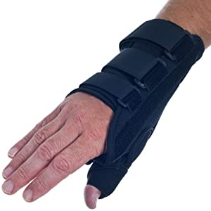 RemedyT Breathable Neoprene Thumb Wrist Brace -X Large Right